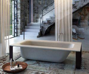Baignoires - concrete bath