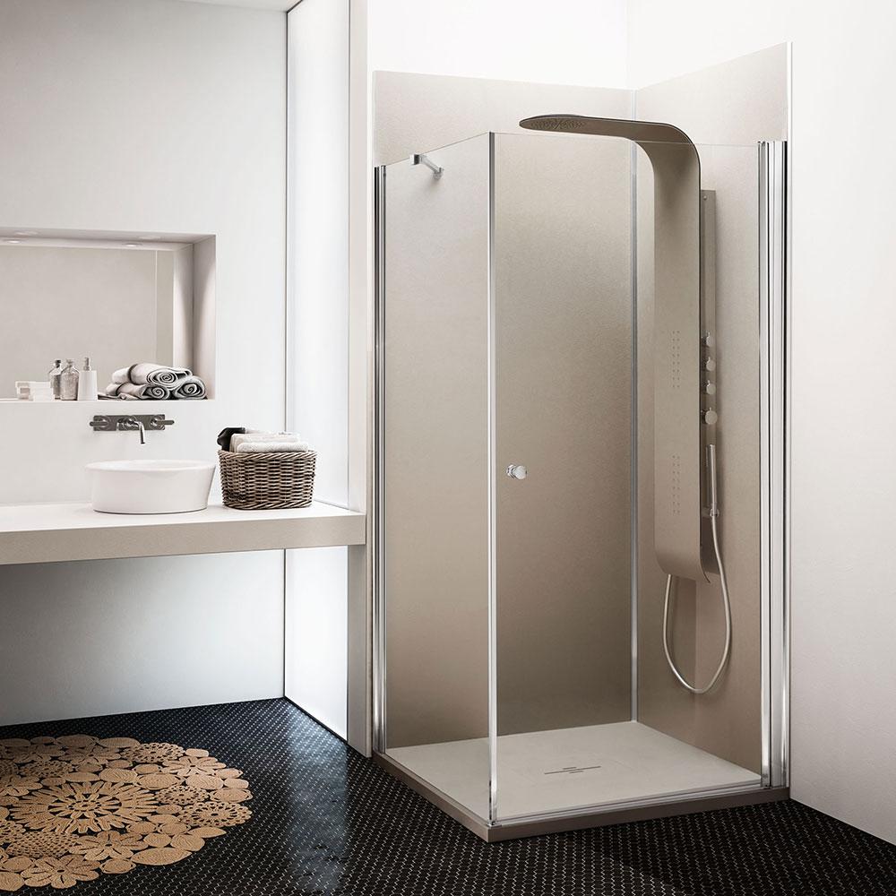revetement mural douche litalienne id e inspirante pour la conception de la maison. Black Bedroom Furniture Sets. Home Design Ideas