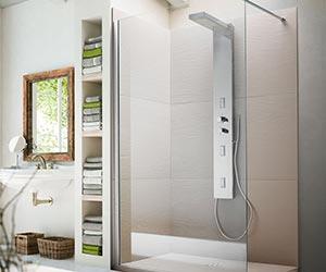 Receveurs de douche et panneaux de revètement mural - razor wall