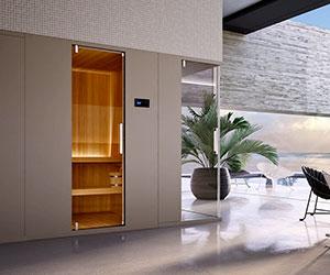 paso doble Sauna  Glass1989 Compositions modulaires